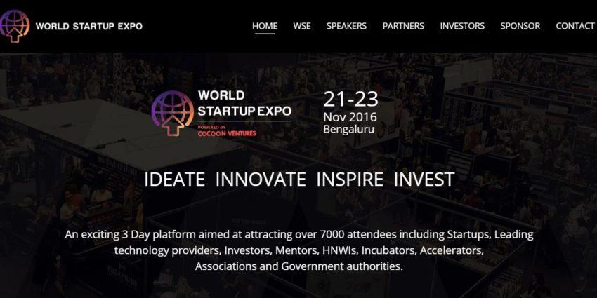 Trescon, Startup expo, World Startup Expo