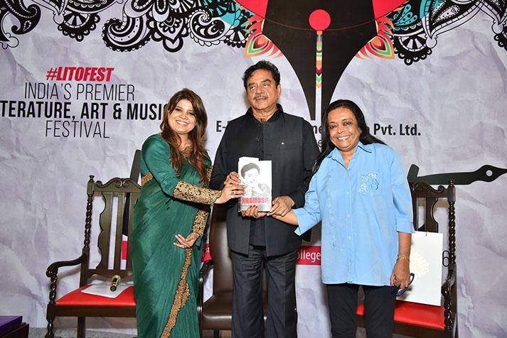 Shatrughan Sinha, Lit-O-Fest, Smita