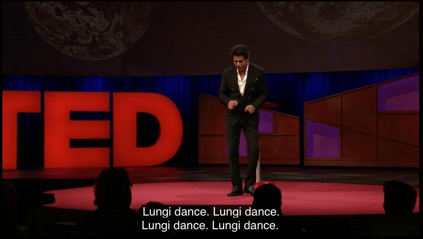 Sharukh Khan, Shahrukh Khan TED, Shahrukh TED, TED Talk, Celebrity TED Talks