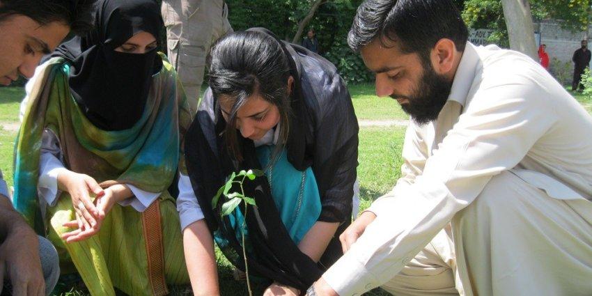 Climate Literacy, DCB Bank, DCB Bank CSR, Neer, Climate Change, Pakistan, Tree plantation, pakistani province grows trees, save earth