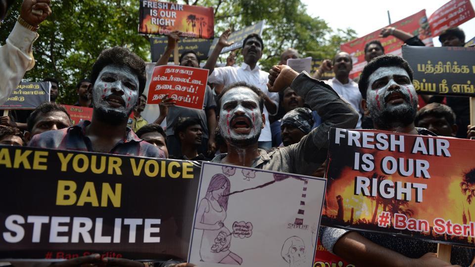 Sterlite, Sterlite copper, Protest, Pollution, Tamilnadu Protest, Thoothukudi, Thoothukudi protest. Biodiversity loss, BJP STERLITE, Congress sterlite, corruption by bjp