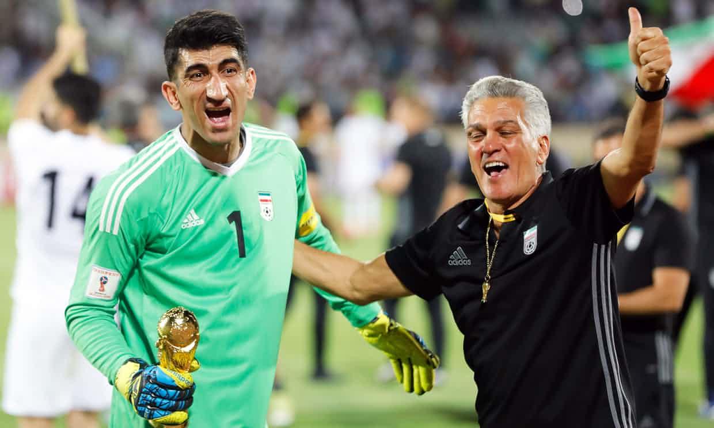 Cristiano Ronaldo, penalty, goal, Alireza Beiranvand, FIFA, World Cup, 2018, Iran, goalkeeper, Portugal, save, match