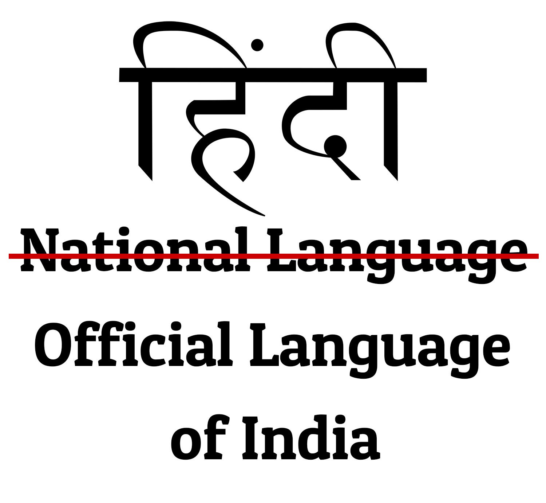 National Language of India National Language Hindi Hindi Diwas Hindi Day India Diversity